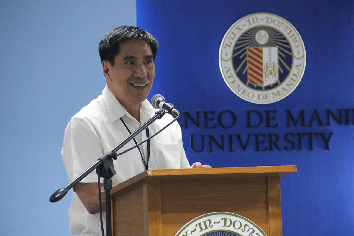 Ateneo School of Medicine and Public Health Dean Dr. Manuel Dayrit says the project is geared towards uniting communities.